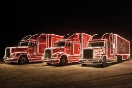 Reference - Vánoční kamion Coca-Cola
